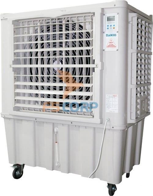 Máy làm mát không khí Daikio DK-15000A trang bị bánh xe di chuyển dễ dàng