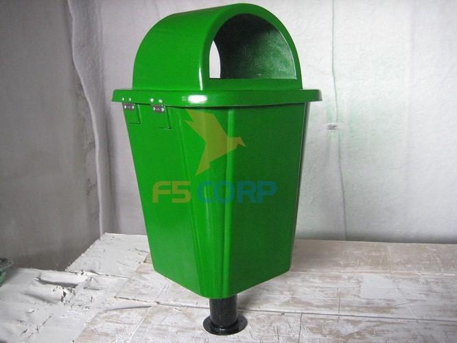 Thùng rác nhựa Composite FTR-005 55 lít