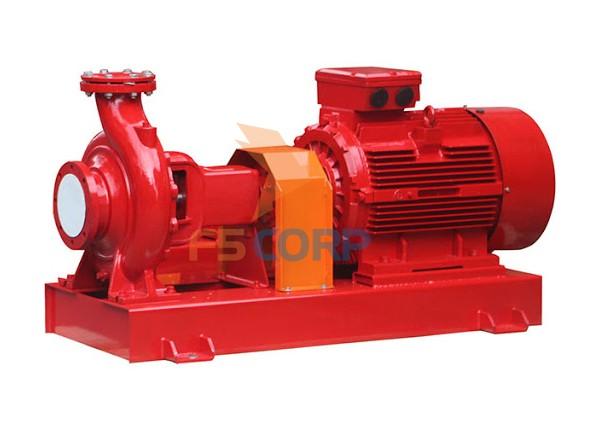 Đầu bơm chữa cháy INTER chạy Diesel động cơ Versar 100-250/550-55KW VD4N.58-58KW/3000rpm
