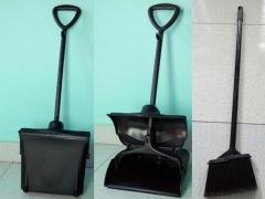 Key hốt rác có nắp đậy cán dài 80cm hàng nhập khẩu Malaysia