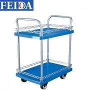 Xe đẩy sàn nhựa 2 tầng Feida FD 150 T2