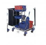 Xe đẩy làm buồng Kleanway Maxi đa năng KWJC 2200