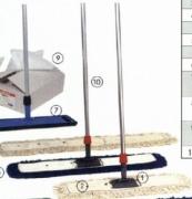 Giẻ lau sàn khô cotton trắng 40 cm KLEANWAY KWDM 3104H (Chiếc)