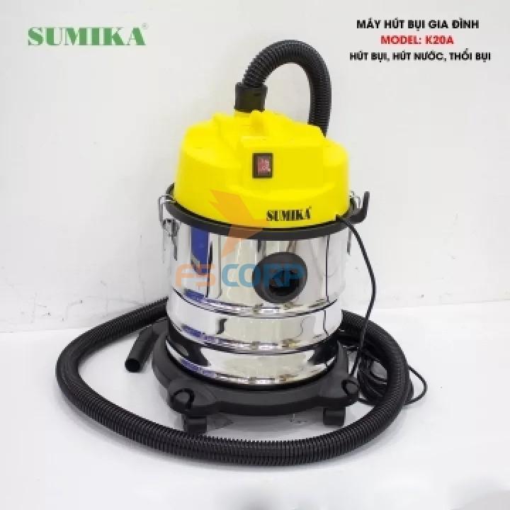 Máy hút bụi hút nước và thổi Sumika K20A
