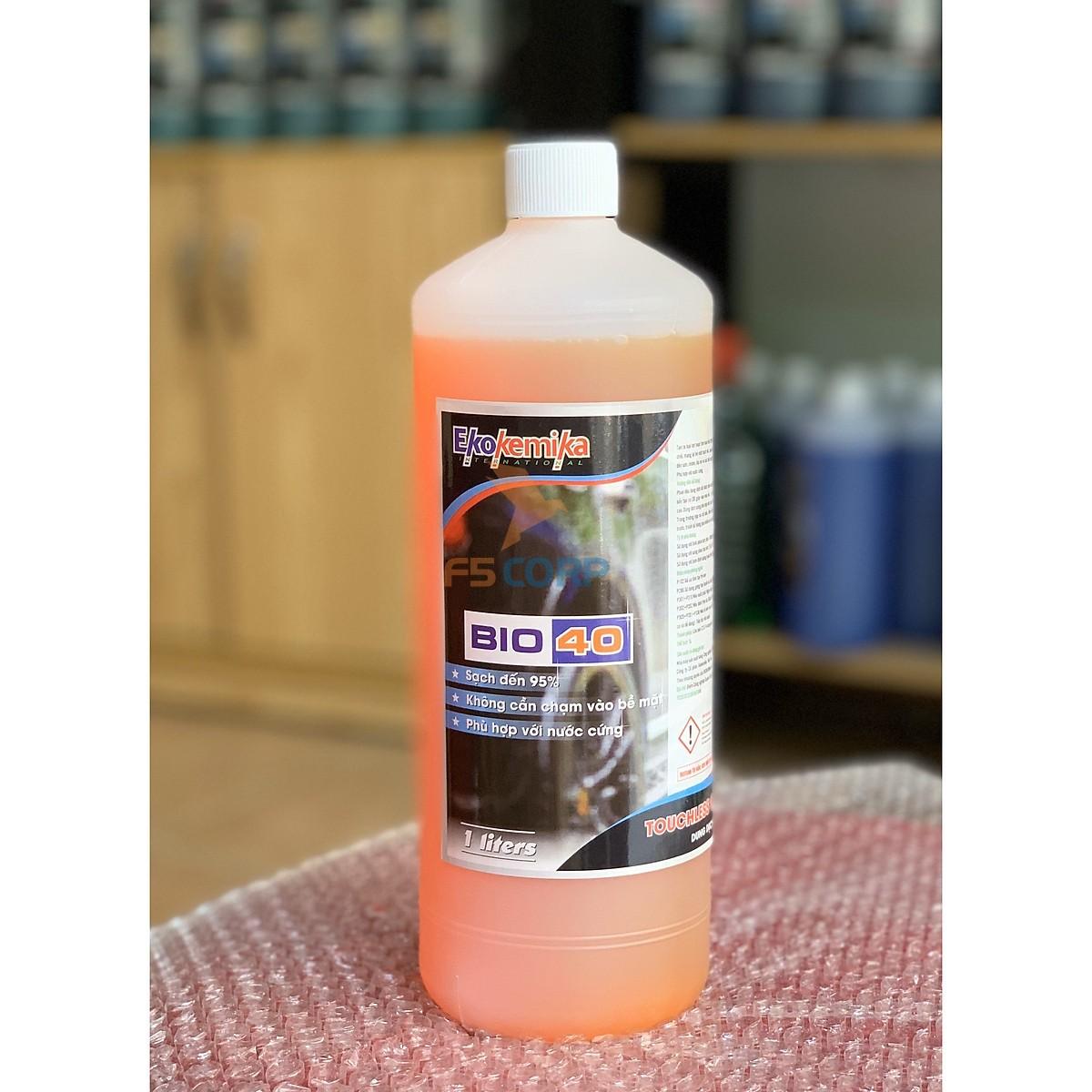 Dung dịch rửa xe không chạm và rửa khoang động cơ BiO 40- 1 Lít