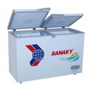 Tủ đông Sanaky hai ngăn dàn lạnh đồng VH-5699W1