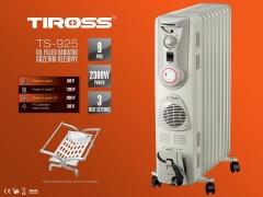 Lò sưởi dầu 9 thanh TIROSS TS 925