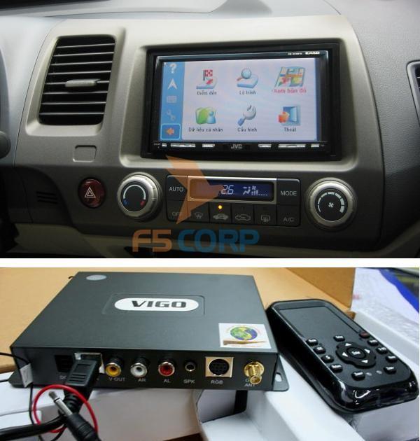 Thiết bị dẫn đường VietMap Touch 9100 Pioneer