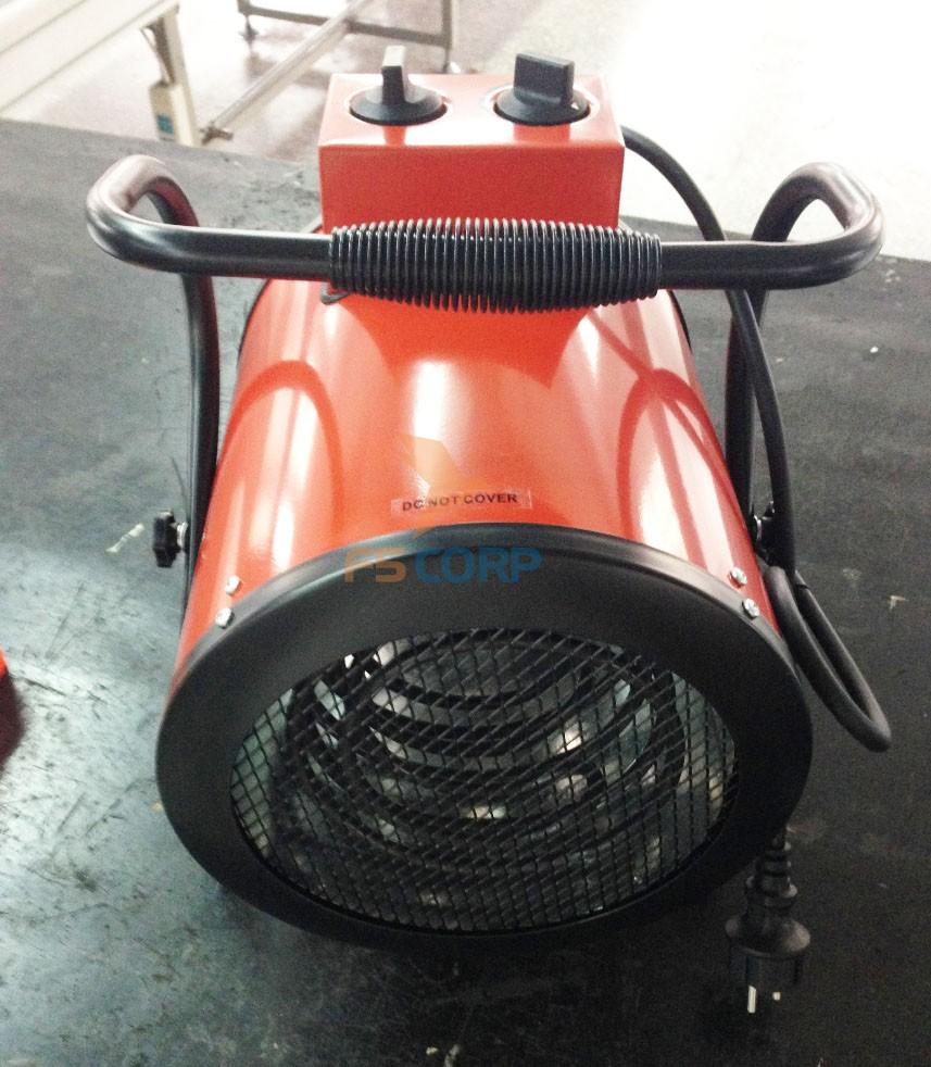 Quạt sấy gió nóng dạng ống công suất 3KW.H - BG-C3/1-13
