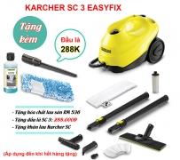 Máy làm sạch bằng hơi nước Karcher SC 3 EasyFix (1.513-110.0)