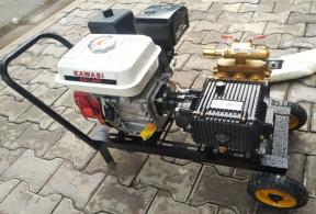 Bộ máy phun xịt 1Hp - động cơ xăng 7Hp