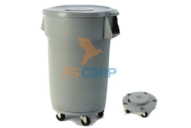 Thùng rác nhà bếp NB-T212A06-76 76 lít