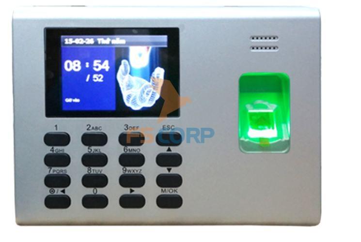 Máy chấm công vân tay & thẻ cảm ứng Ronald Jack  DG-600