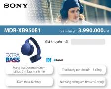 Tai nghe cao cấp Sony MDR-XB950B1