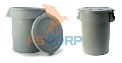 Thùng rác nhà bếp NB-T212A06 37 lít