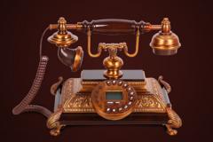 Điện thoại giả cổ để bàn (VT9707)