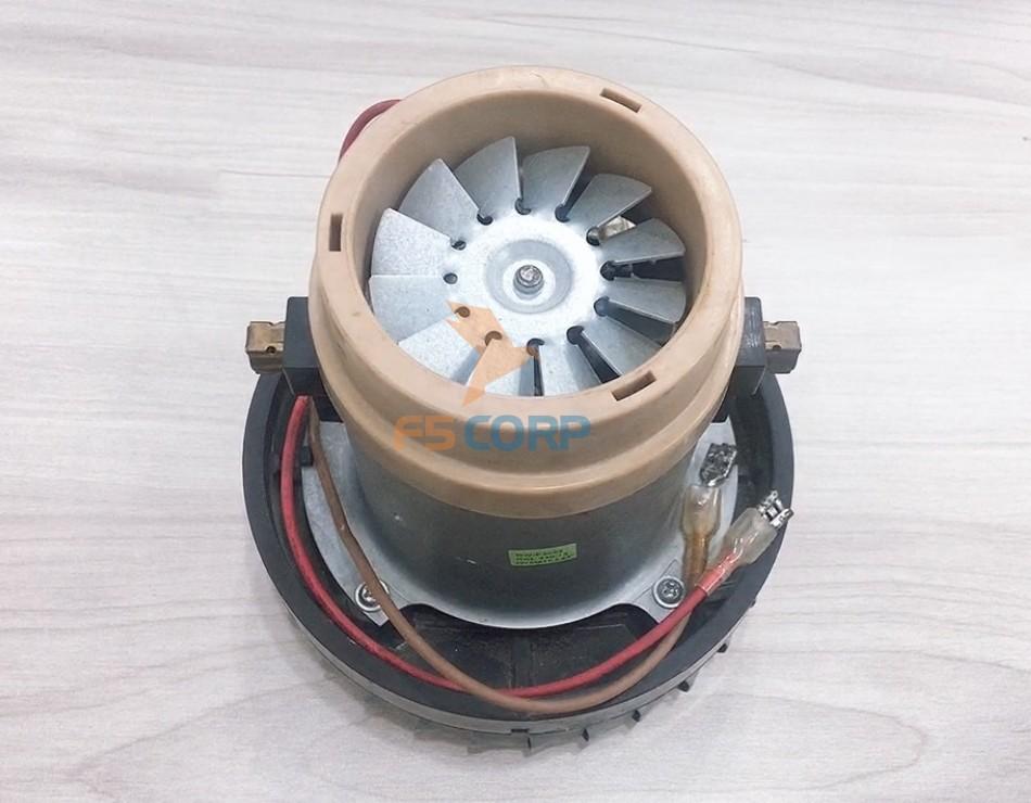 Motor máy hút bụi hút nước 1 tầng cánh