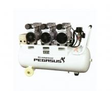 Máy nén khí không dầu giảm âm Pegasus TM- OF750x3- 70L