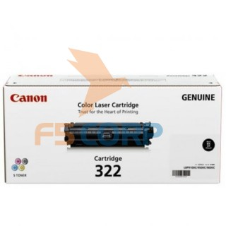 Mực in laser màu Canon Cartridge 322BK