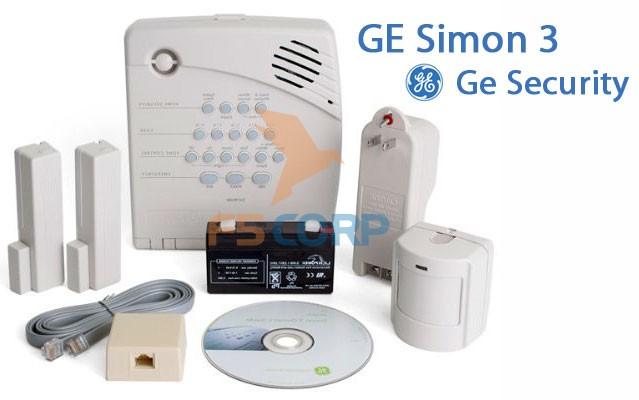 Bộ thiết bị báo động không dây Simon 3 GE Security