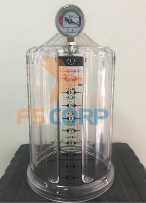 Bình thủy tinh của máy hút dầu thải HC-3297 12L