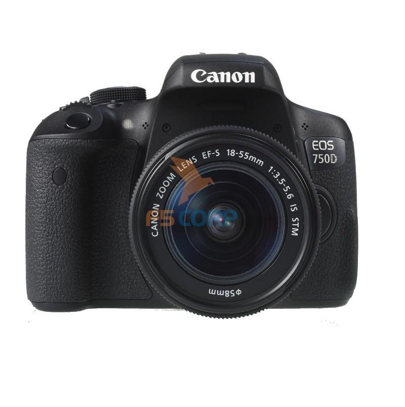 Máy ảnh Canon 750d kit 18-55 STM
