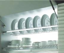 Kệ úp chén Inox tủ bếp trên Higold  401011