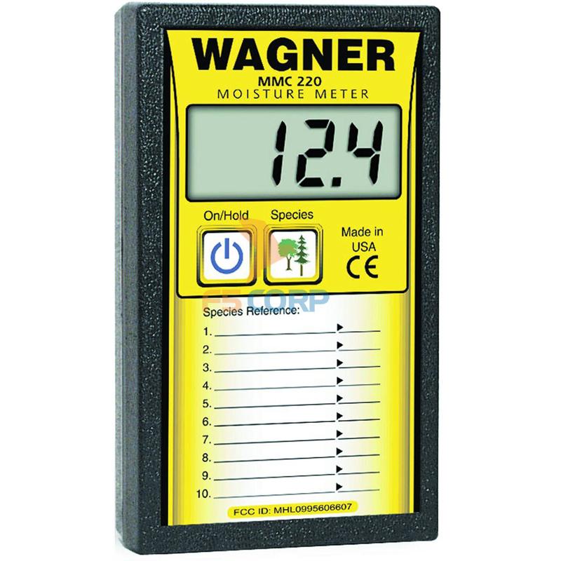 Đồng hồ đo độ ẩm đồ gỗ Wagner MMC-220