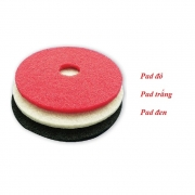 Phớt đánh sàn Klenco KPG30200 50 cm màu đỏ