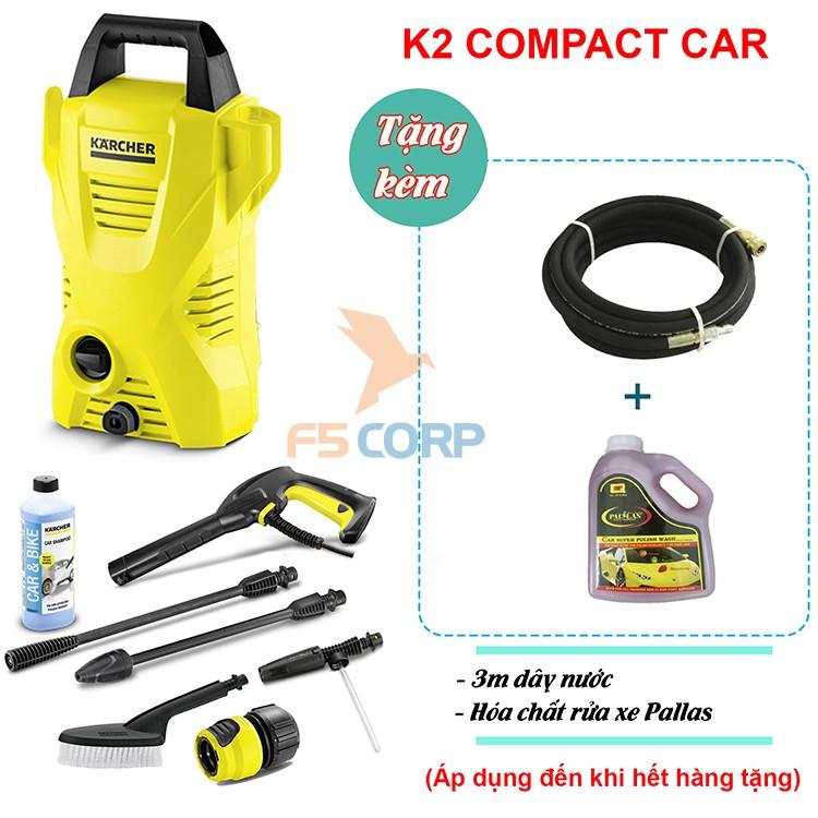 Máy phun xịt áp lực cao Karcher K2 Compact Car mã 1.673-506.0