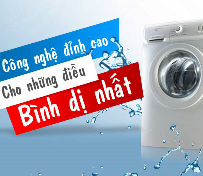 Máy giặt gia dụng