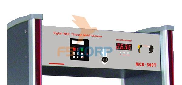 Cổng dò kim loại LCD