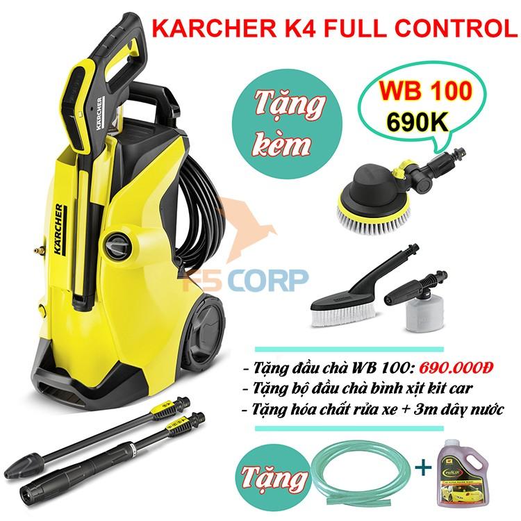 Máy phun áp lực Karcher K4 Full Control *EU (1.324-000.0)