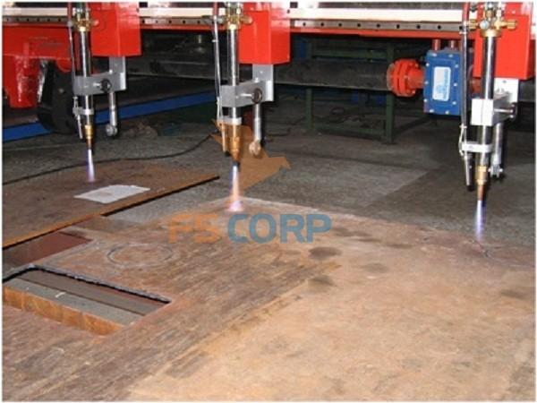Máy cắt kim loại tấm Extech CNC - Model CP 60120