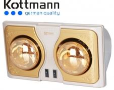 Đèn sưởi Kottmann 2 bóng K2B (H/G/S)