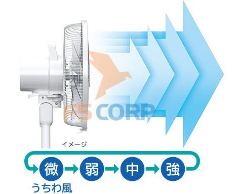 Quạt cây Nhật Hitachi HEF-130R