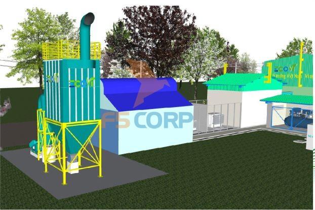 Hệ thống hút bụi dùng túi lọc công nghiệp F5 Eco