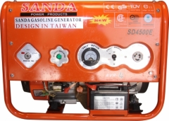 Máy phát điện chạy xăng Sanda SD4500E