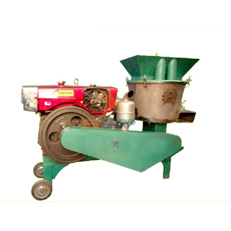 Máy chế biến thức ăn chăn nuôi đa năng động cơ Diesel/16HP