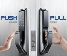 Khóa cửa điện tử Samsung SHS-P717LMN/EN