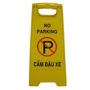 Biển báo chữ A Cấm đậu xe - No Parking GF-011-656