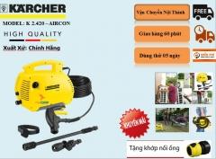 Máy rửa xe áp lực cao Karcher K2.420 Air Con *KAP (1.601-110.0)