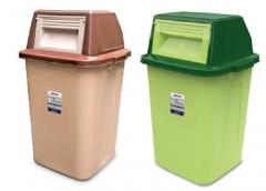 Thùng rác nhựa HDPE nắp lật 60L