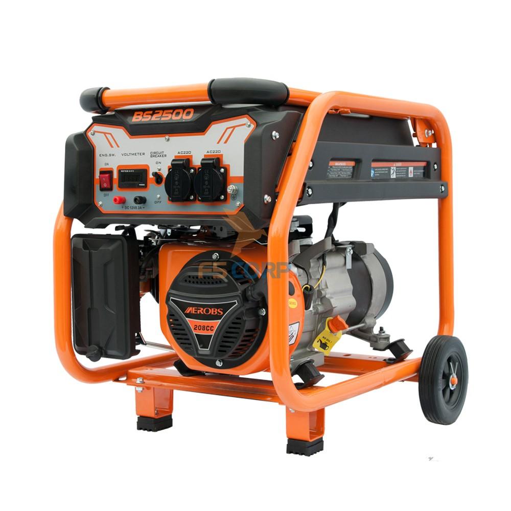 BSGE2500-II máy phát điện xăng 2KW