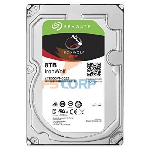 Seagate IronWolf ST8000VN0022 HDD 8TB lưu trữ cho NAS