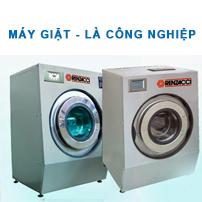 Máy giặt - Là công nghiệp