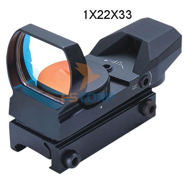 Ống ngắm gắn súng Fomei Kolimator RED 1x22x33