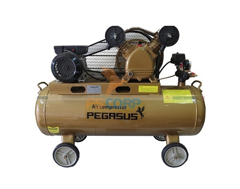 Máy nén khí dây đai Pegasus TM-V-0.6/8-180L (380V)