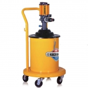 máy bơm mỡ khí nén kocu 12l gz-8