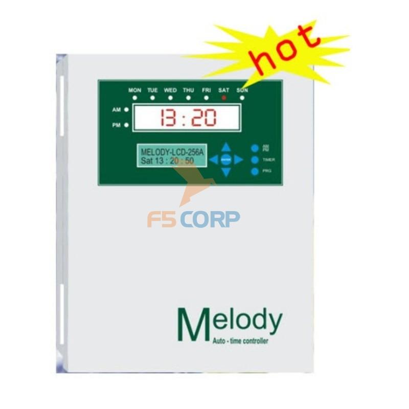 Trung tâm báo giờ tự động Melody LCD-256